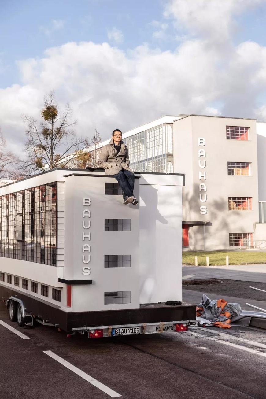 包豪斯大篷车Wohnmaschine设计师Van Bo Le-Mentzel
